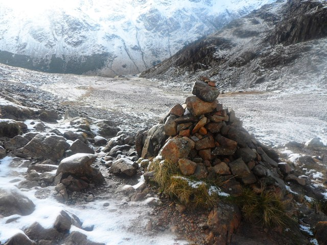 Cairn on Haystacks