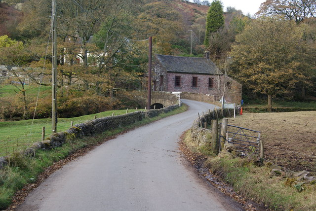 Road across the Dane