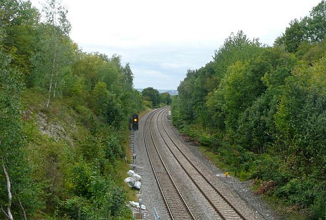 Chiltern line towards Birmingham