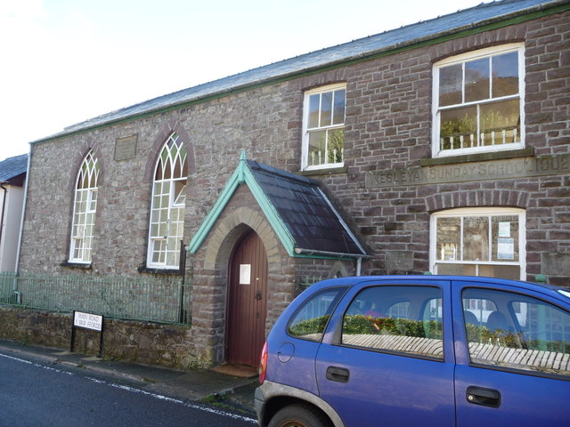 Old chapel and Sunday school, Clydach Gorge