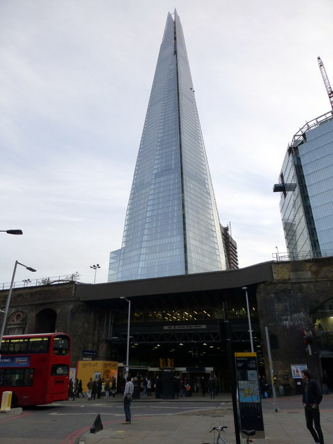 London Bridge Station and the Shard