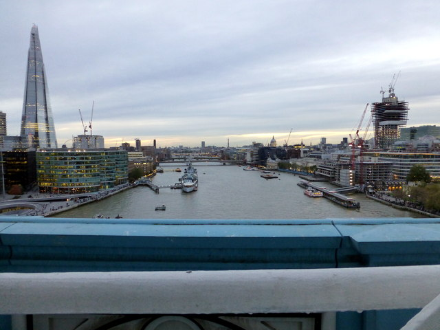 View from Western Walkway Tower Bridge