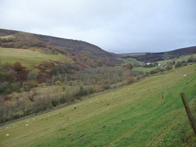 View into Cwm Tyleri