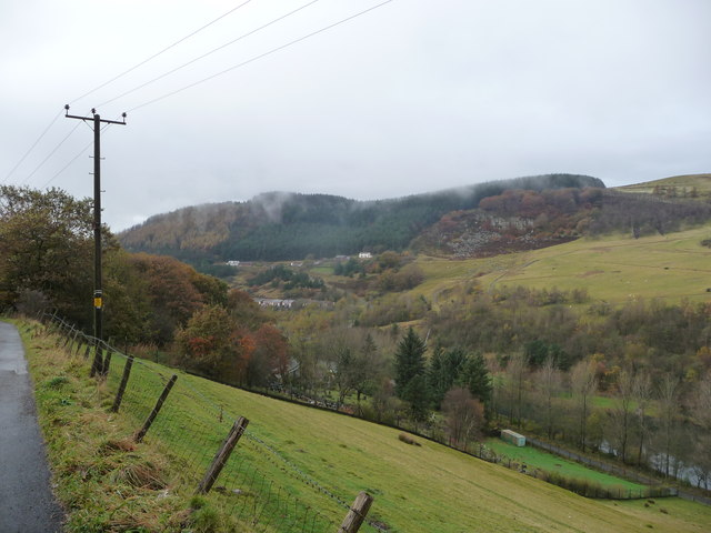Scenery in Cwm Tyleri