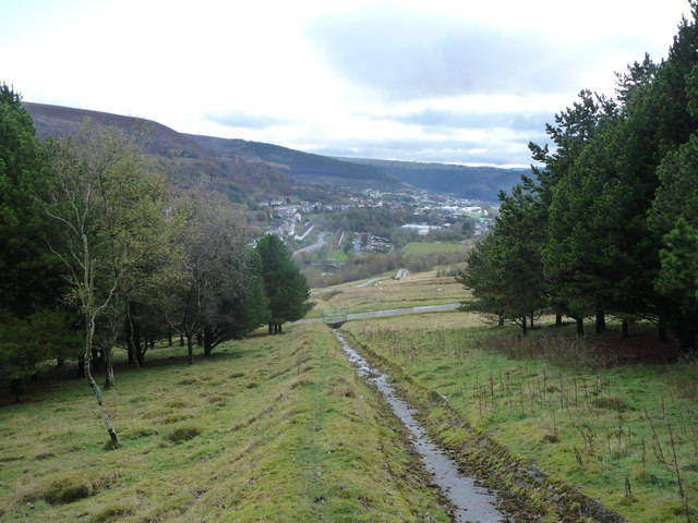 Path above Cwmtillery