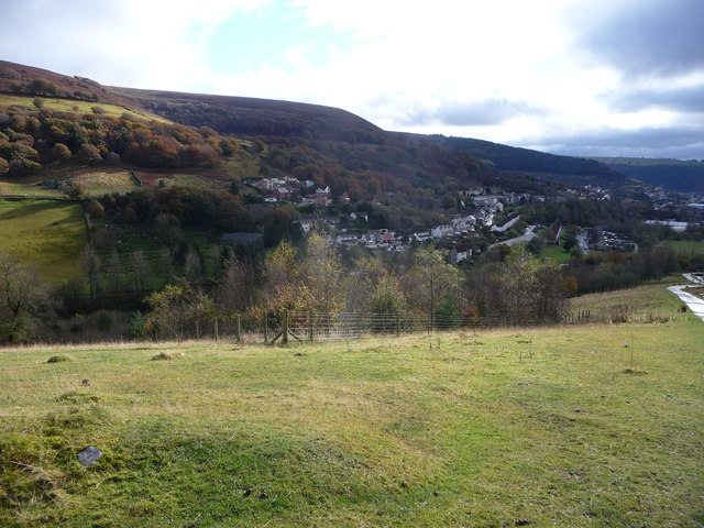 Sunshine above Cwmtillery