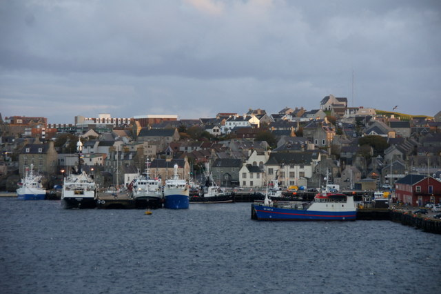 Fishing boats in Lerwick