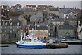 HU4741 : MV Svebas at the lifeboat pier, Lerwick by Mike Pennington