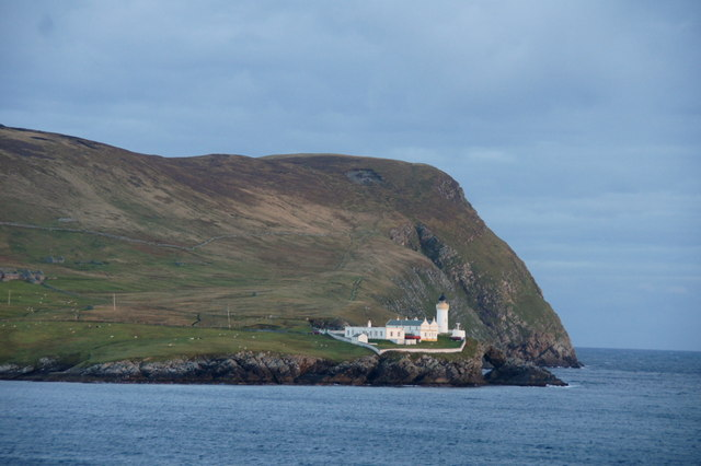 The Bressay lighthouse at Kirkabister Ness