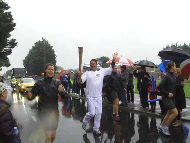 Olympic Torch relay in Bognor