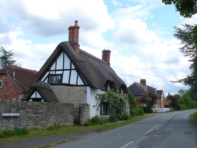 Thatched Cottage on Manor Road