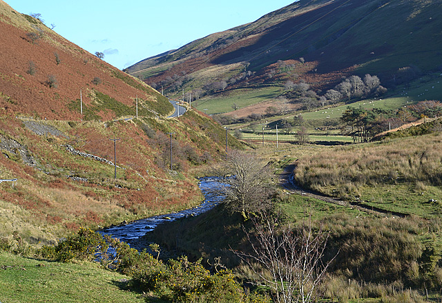 Afon Ystwyth, above the mines