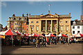 SK7953 : Newark Market Place by Richard Croft
