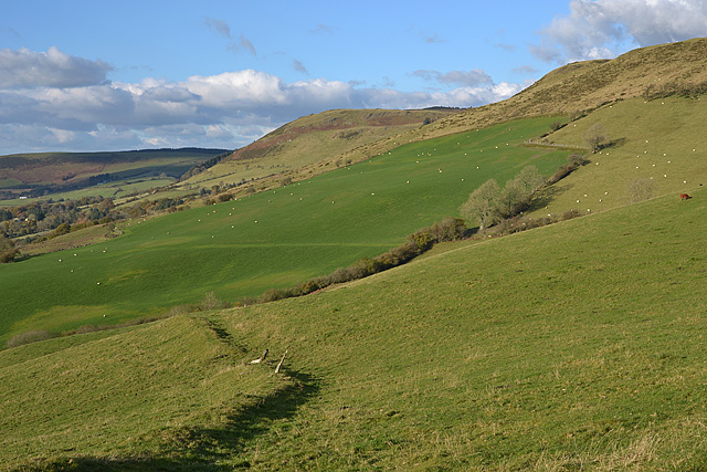 Western side of Camlo Hill