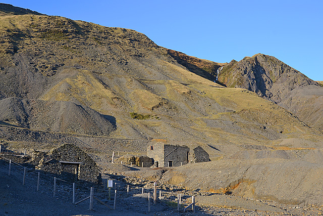 The mines, Cwm Ystwyth
