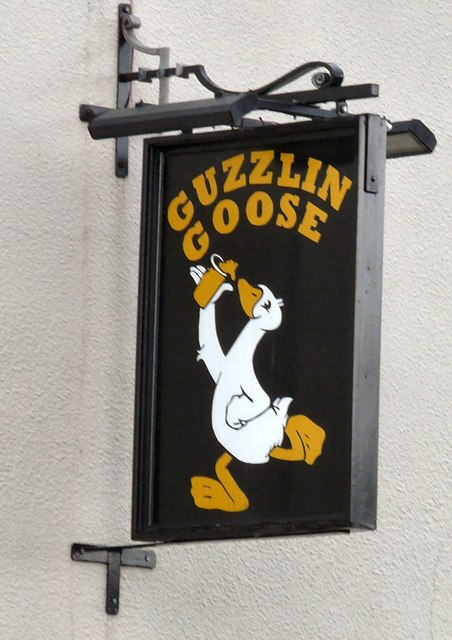 Sign of the Guzzlin Goose
