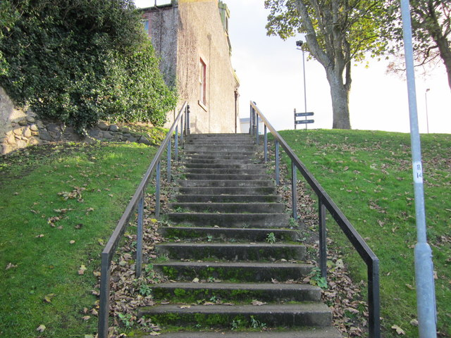 Steps to Knockcushan Street