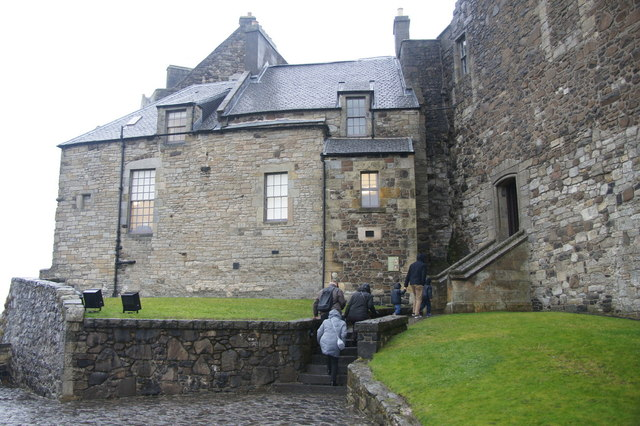 West side of Stirling Castle