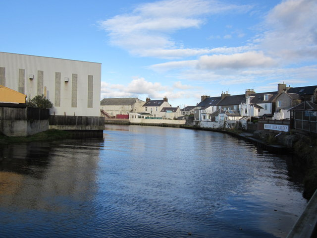River Girvan at the Harbour