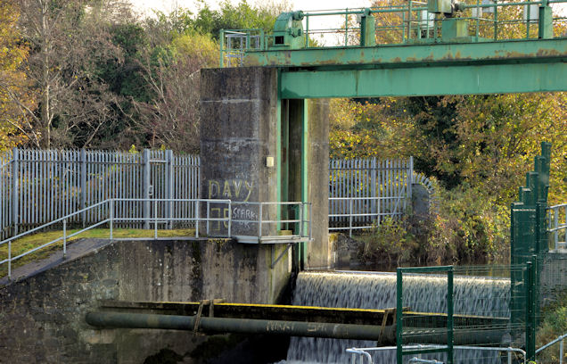 Sluice gate, Lisburn/Hilden (4)