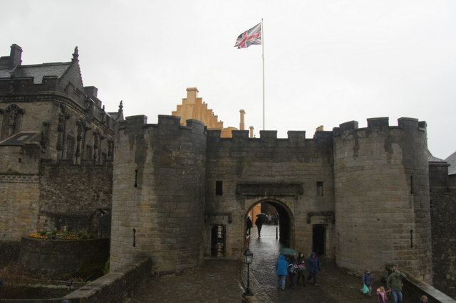 Gatehouse, Stirling Castle