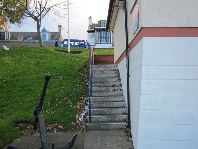 Lifeboat Station Steps, Girvan