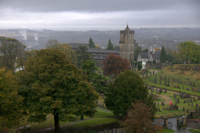 Church south of Stirling Castle