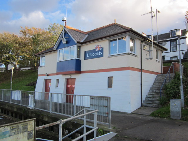 Lifeboat Station, Girvan