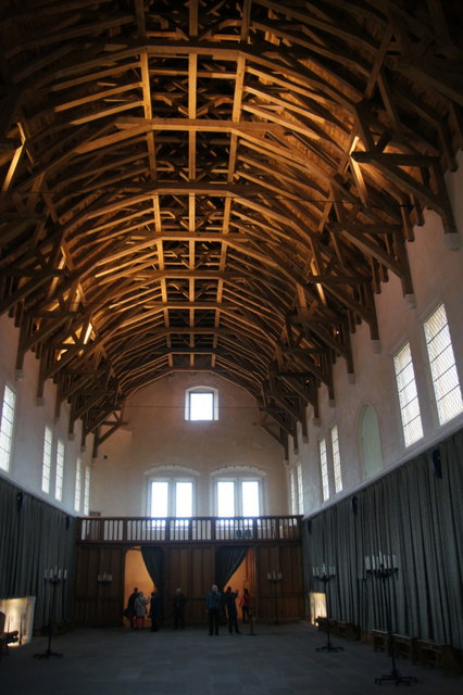 Inside the Great Hall at Stirling Castle