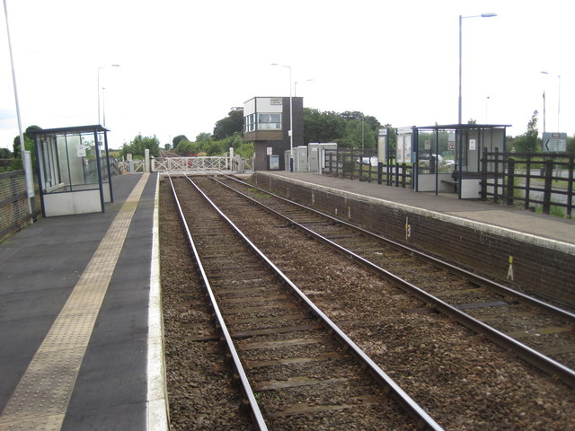 Hubberts Bridge Railway Station 169 Nigel Thompson