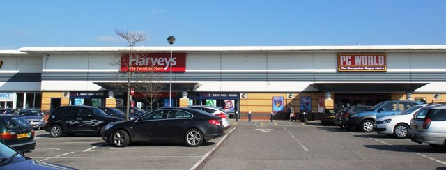 Brighton Hill retail park