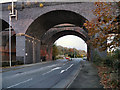 SJ8581 : Rail Bridge, Wilmslow by David Dixon