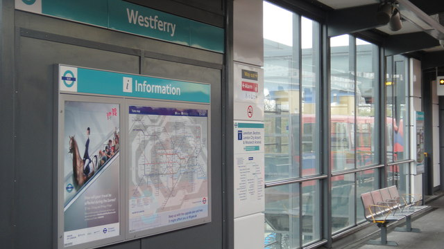 Westferry station