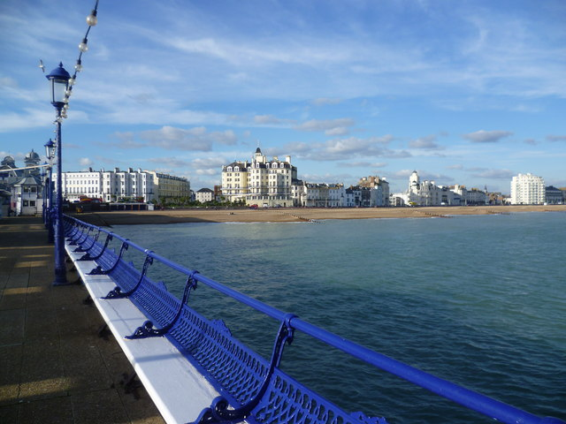 Marine Parade, seen from Eastbourne Pier