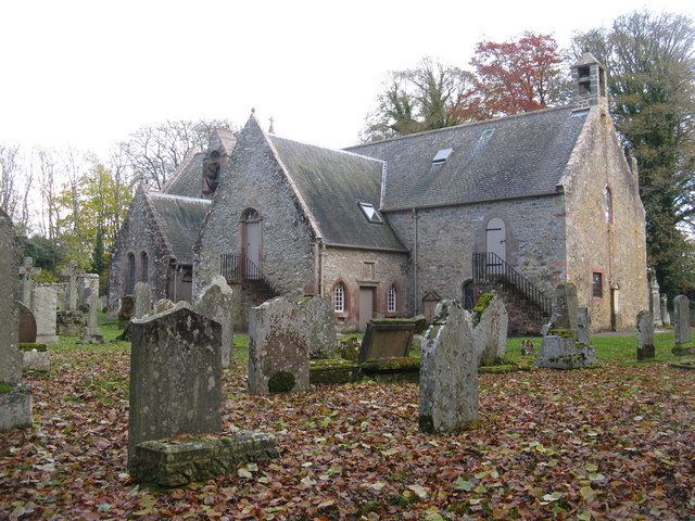 Bowden Kirk and graveyard