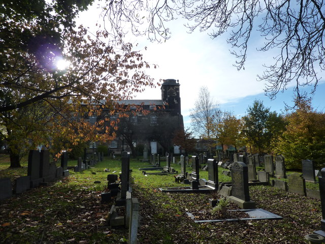 Graveyard, Parish Church of Holy Trinity, Wavertree