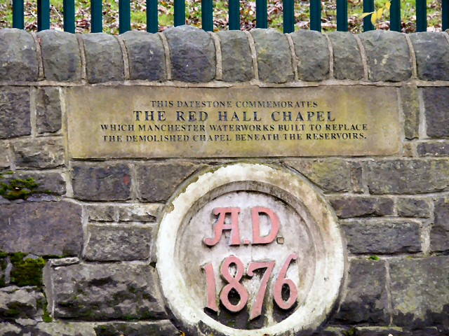 Red Hall Chapel 1876 datestone