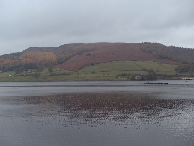 Ladybower reservoir view