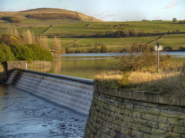 Weir, Bottoms Reservoir