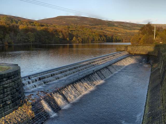 Valehouse Reservoir Weir