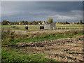 TL5085 : Horse paddocks near Pymoor by Hugh Venables
