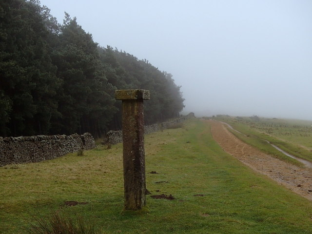 Hope Cross on a misty day