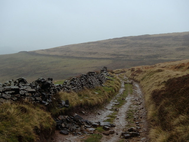 Path towards Blackley Clough