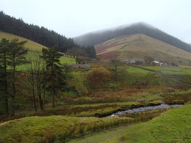 Alport Dale and farm