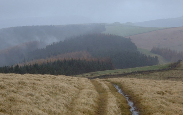 High ground between the Woodland and Derwent valleys