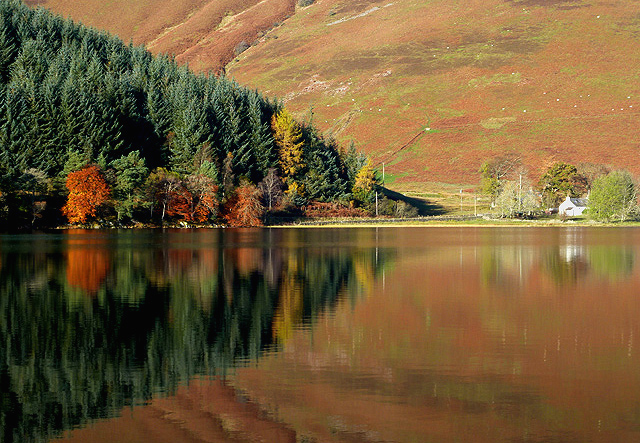 Reflections on St Mary's Loch