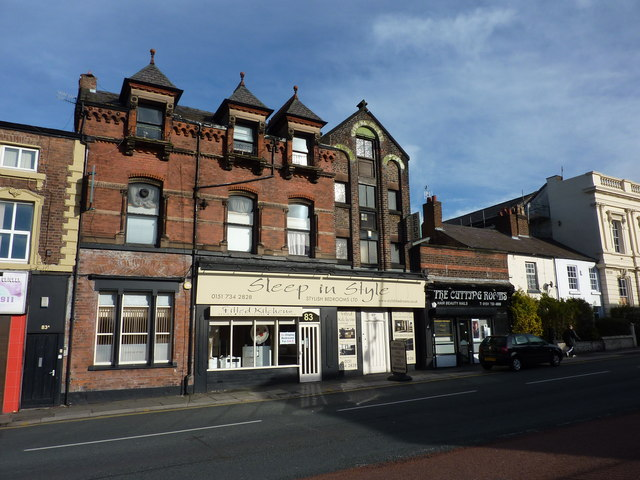 Bed shop, beauty shop, High Street, Wavertree