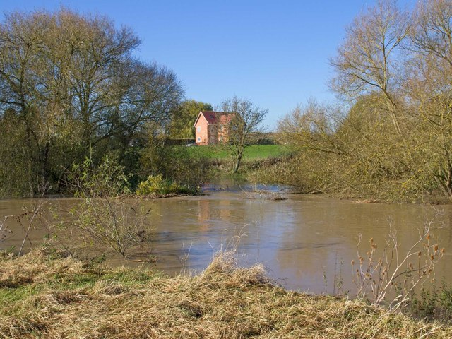 Island channel, River Avon