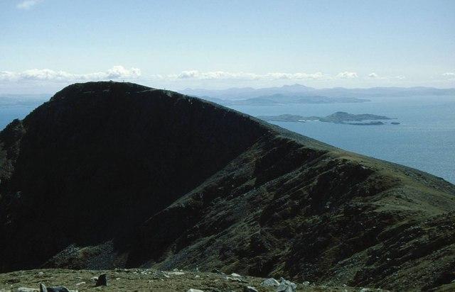 The ridge leading to Sgùrr nan Gillean