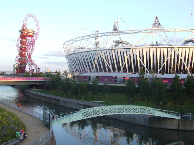 Bridge over the river, Olympic Park